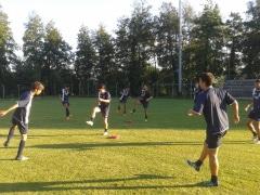 Baldaccio Bruni allenamento pre Porta Romana