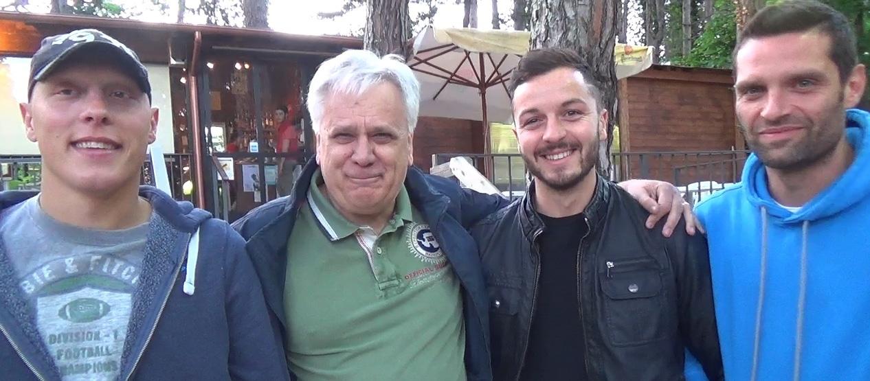 Intervista video con i pilastri biancoverdi Giorni, Bruni e Bartolo