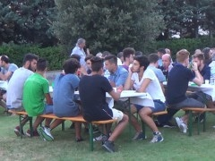 altra immagine cena presentazione Baldaccio Bruni