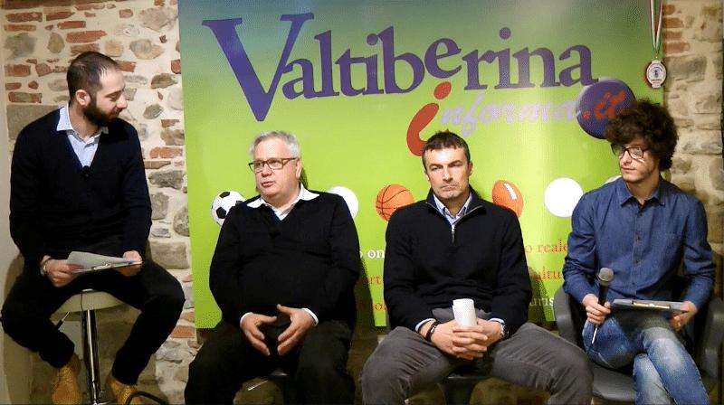 Baldaccio protagonista nella trasmissione Valtiberina Calcio