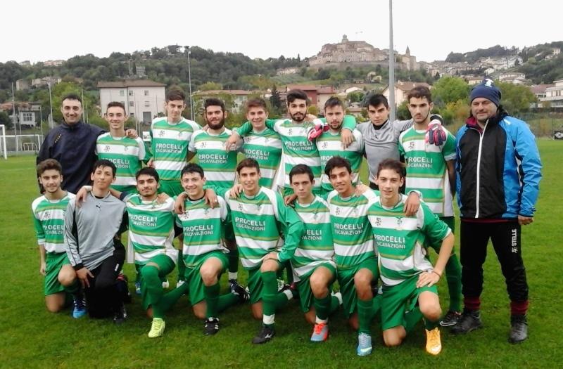 La juniores seconda classificata 2015-2016
