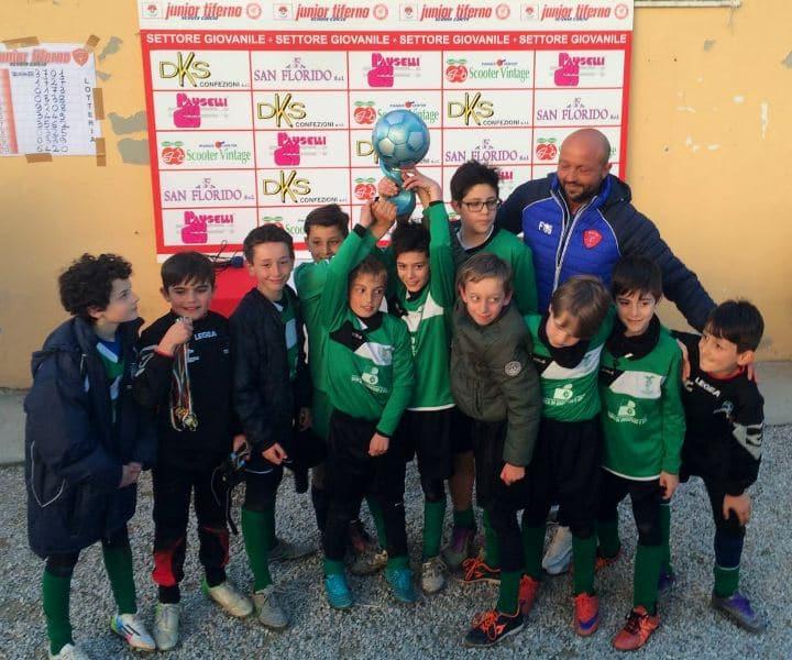 I Pulcini 2005 biancoverdi hanno vinto il Torneo Sporting Club