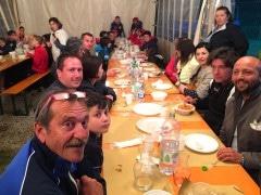junior tiferno a cena nel torneo di Anghiari