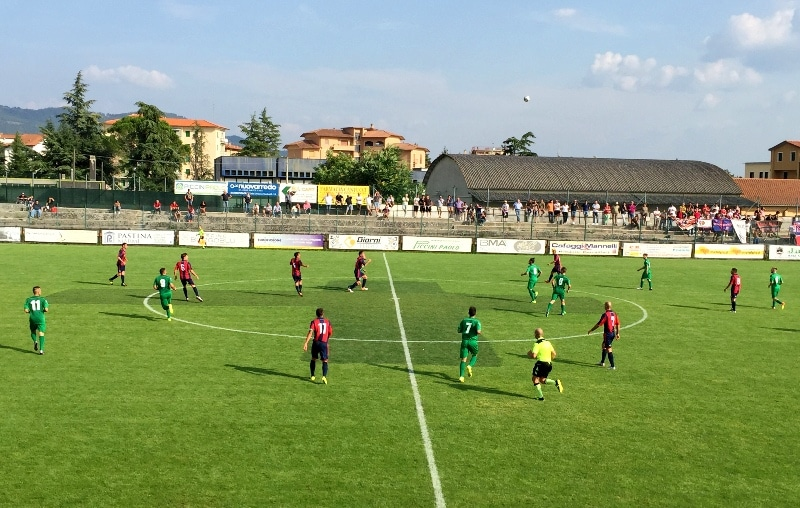 Baldaccio a Montevarchi nel big match che apre il 2017