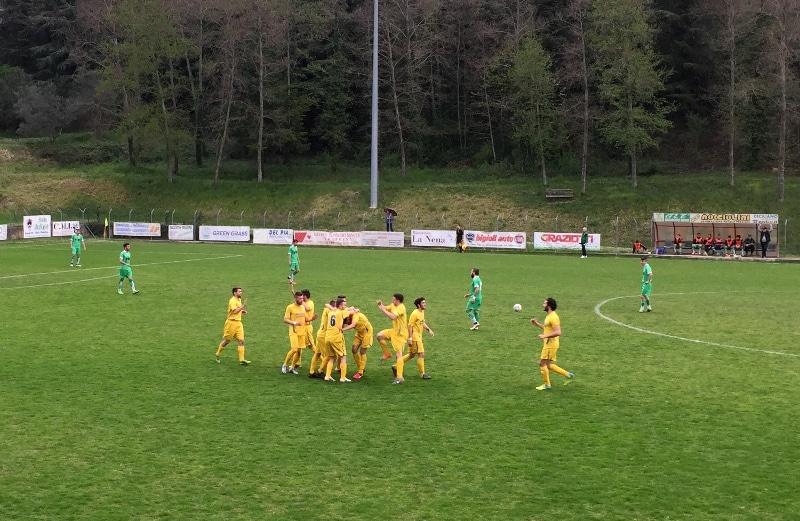 Baldaccio - Fortis esultanza gol Castellone