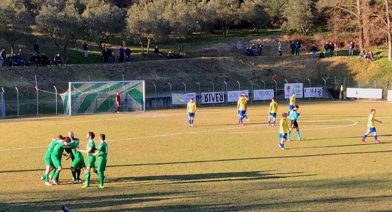 Baldaccio - Signa foto gol Rosati
