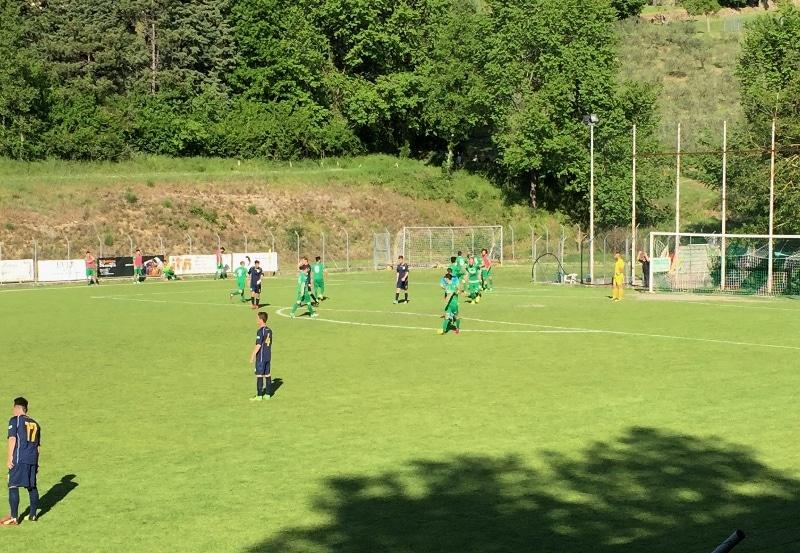 Baldaccio - Valdarno foto esultanza 2-0