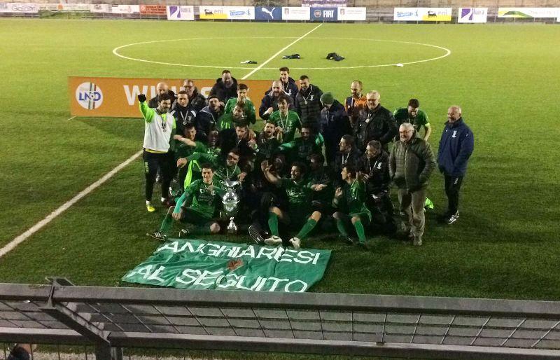 Baldaccio con il Rimini nel 1° turno nazionale di Coppa