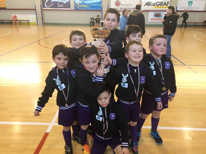 scuola calcio 2010 1° a Trestina foto 1