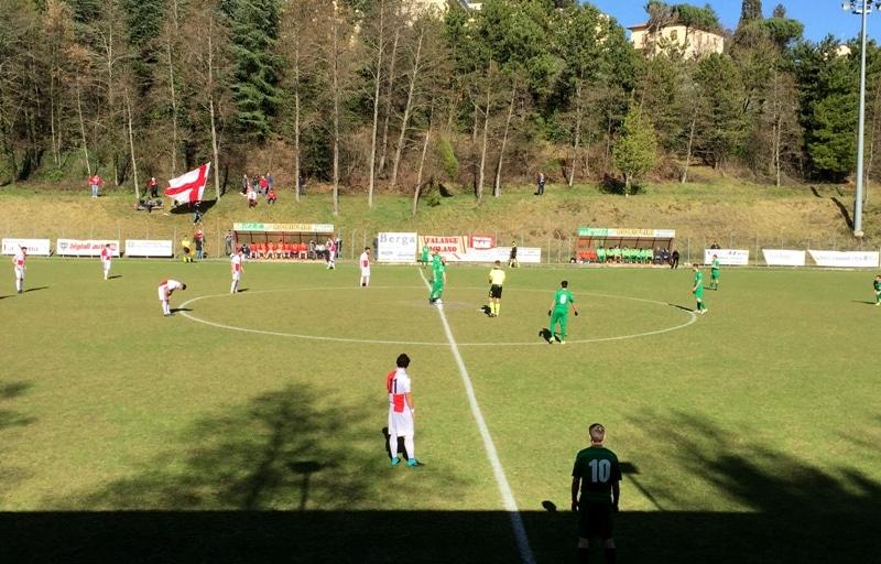 Ad Anghiari l'andata dei quarti della Coppa Italia