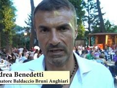 Andrea Benedetti intervista giugno 2017