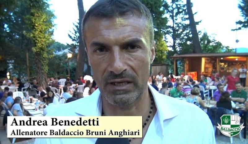 L'intervista video a mister Benedetti