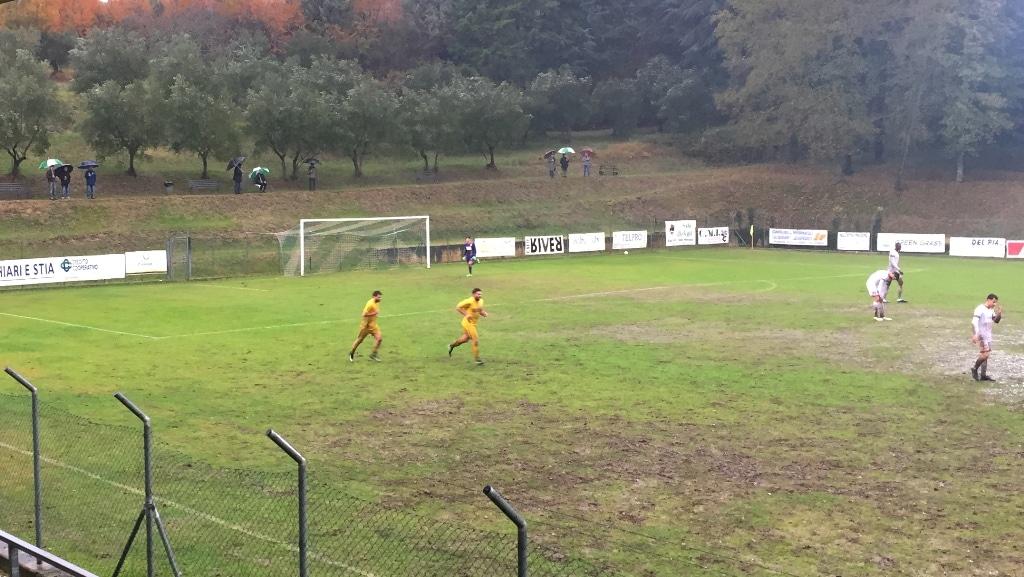 Baldaccio-Bucinese foto 2 dopo gol di Quadroni