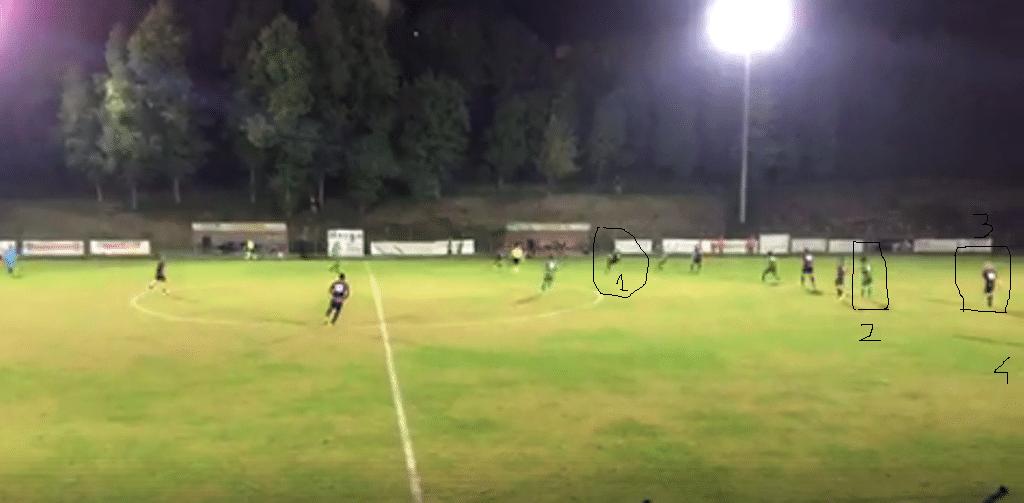 Fuorigioco Vasseur sul gol del 2-2 ok