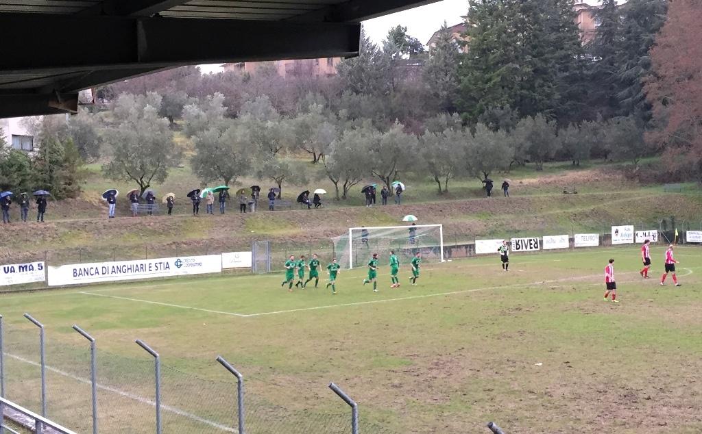 Baldaccio Bruni - Jolly Montemurlo, foto gol 1-0