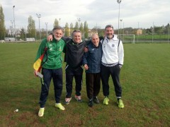 da sinistra a destra Guido Marchese, Luigi Carboni, Carlo Bernardini e Luca Mannarini