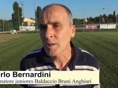 Carlo Bernardini allenatore juniores Baldaccio