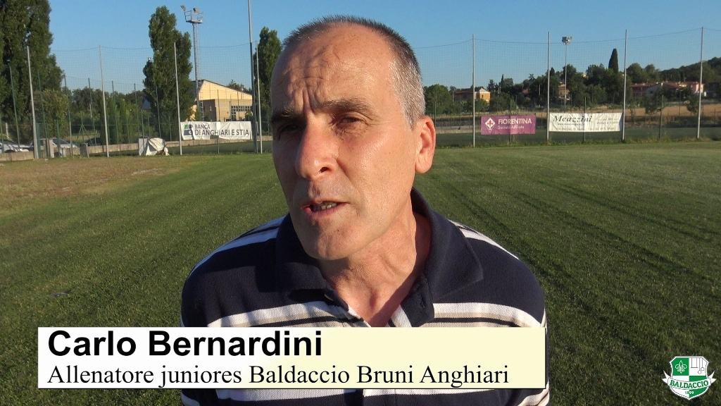 L'intervista video al mister della juniores Bernardini