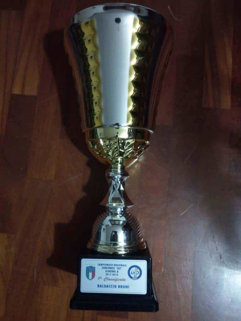Coppa Juniores per vittoria A2 2017-2018