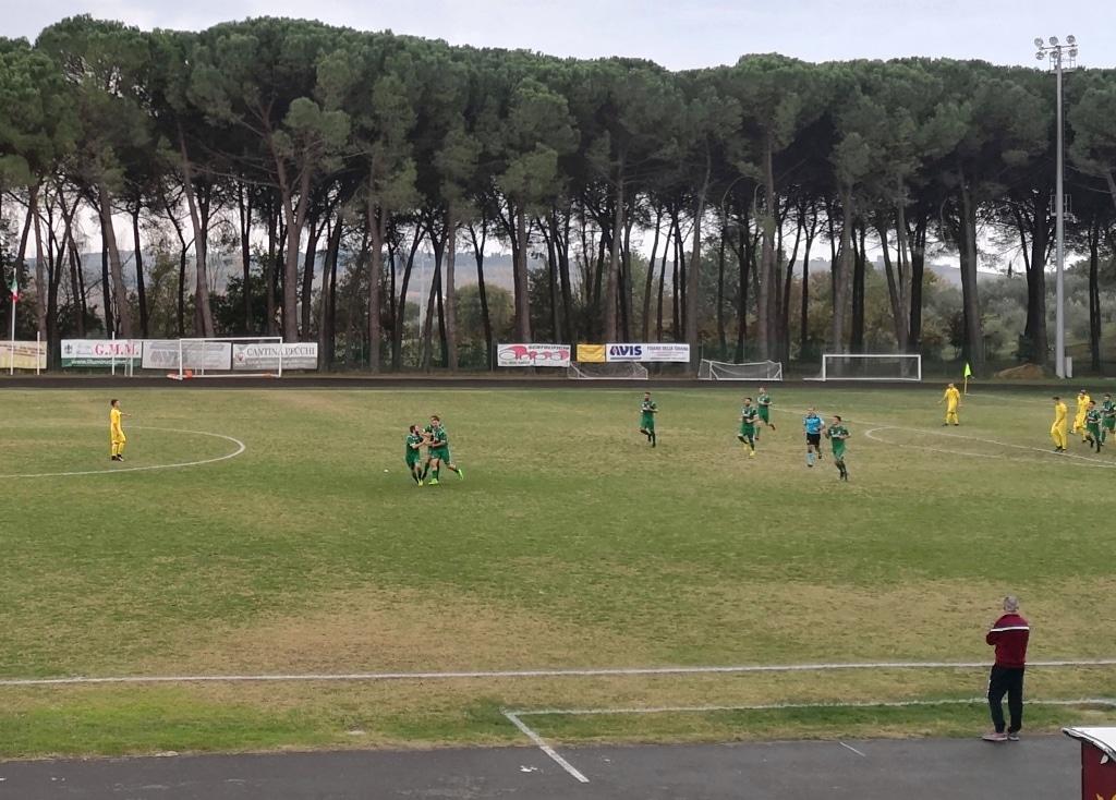 Foiano - Baldaccio 10° turno foto esultanza Quadroni