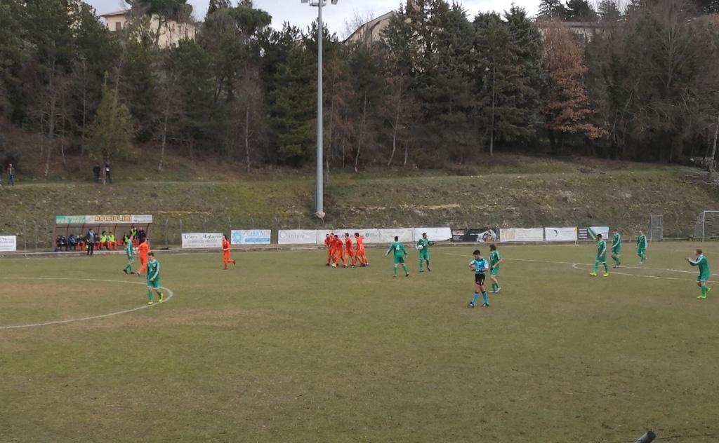 Baldaccio - Fortis Juventus 2-1, foto 2 esultanza vantaggio