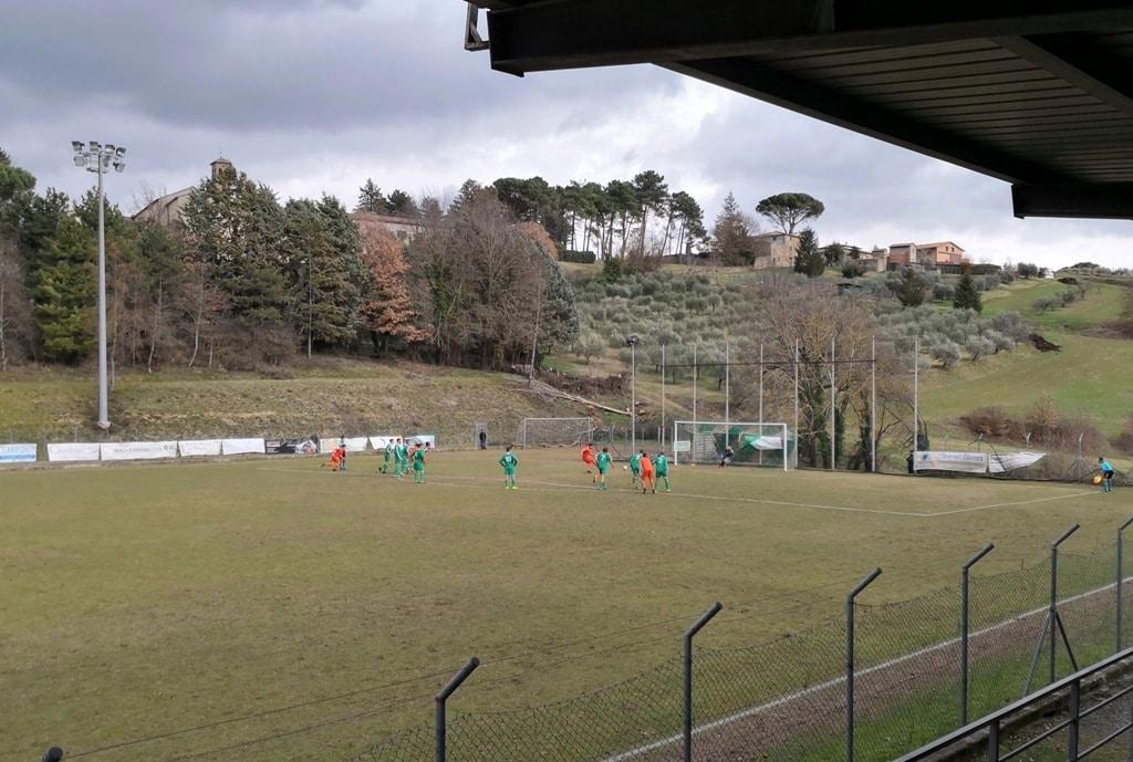 Baldaccio - Fortis Juventus 2-1, foto 4 rigore di Terzi