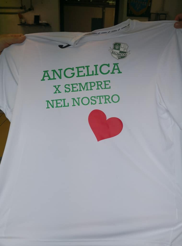 Baldaccio - Zenith foto 5, maglia in ricordo di Angelica