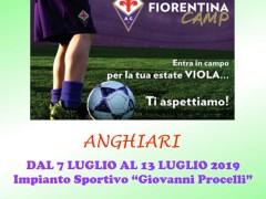 locandina Fiorentina Camp