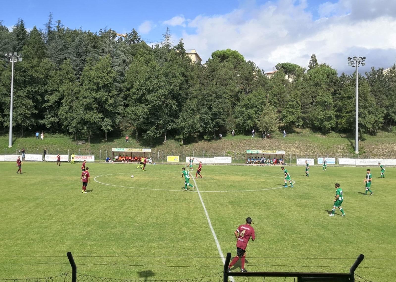 Baldaccio - Foiano 2-1, foto calcio d'inizio