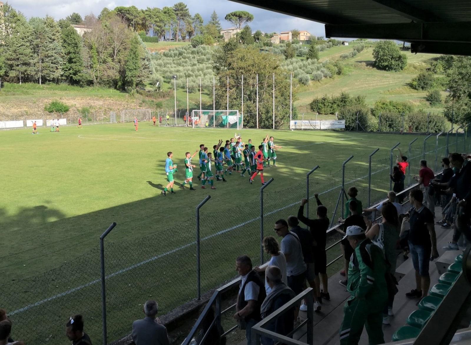 Baldaccio - Foiano 2-1, foto esultanza