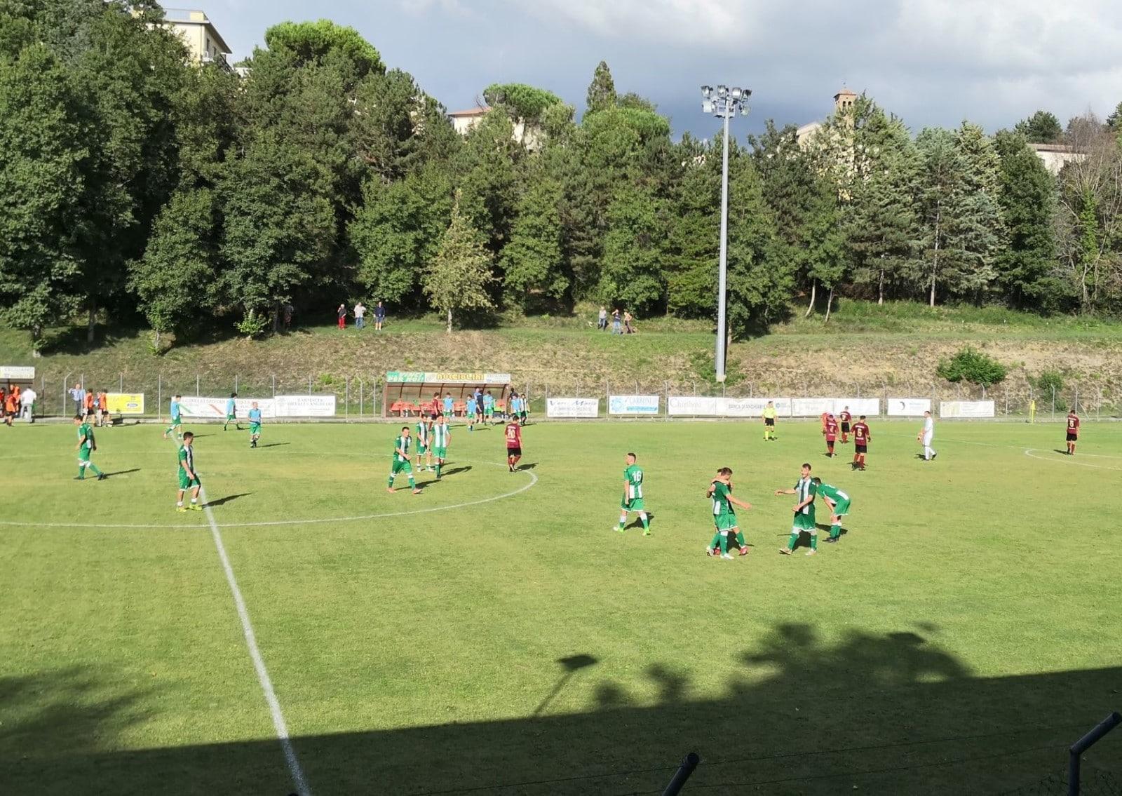 Baldaccio - Foiano 2-1, foto fischio finale