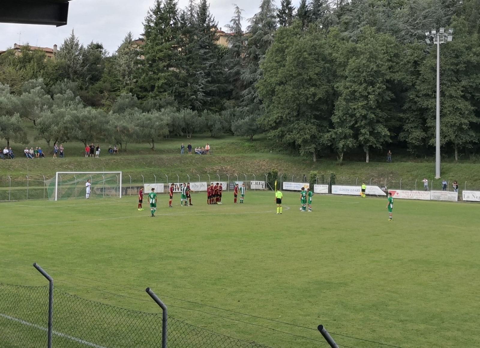 Baldaccio - Foiano 2-1, foto punizione