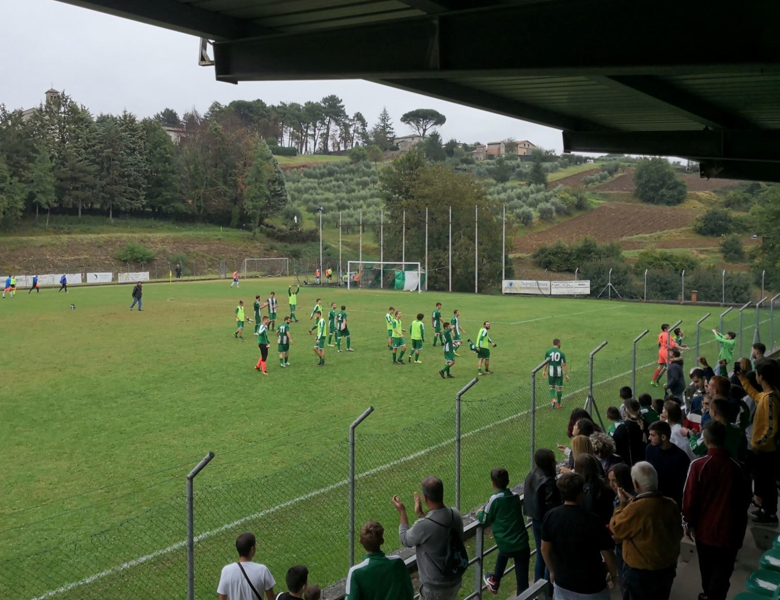 Baldaccio - Antella 2-1, foto festa finale
