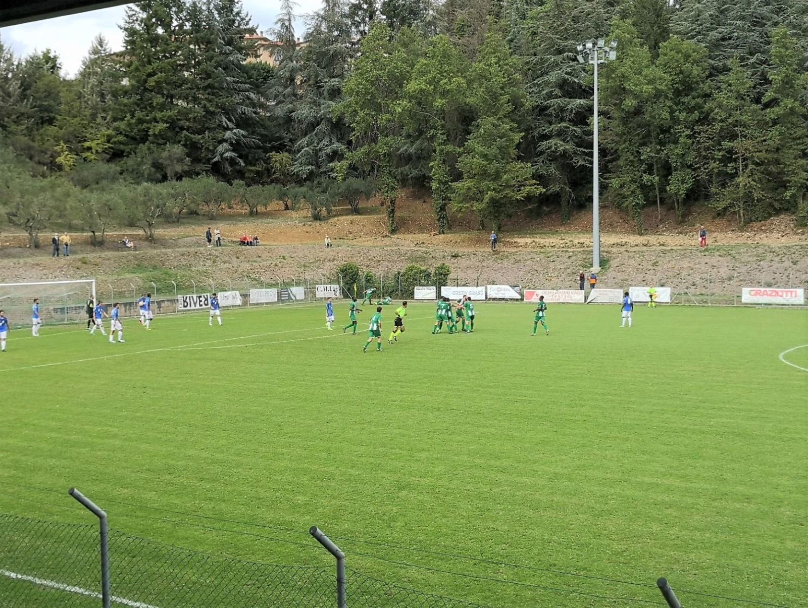 Baldaccio - Pontassieve 2 esultanza gol